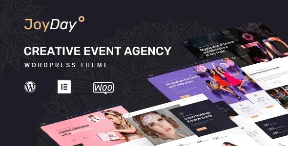 Best Creative Event Agency WordPress Theme
