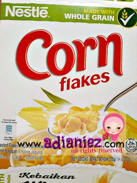 Mari Ramai-Ramai Buat Kuih Raya Ni ~ Cornflakes Madu :)