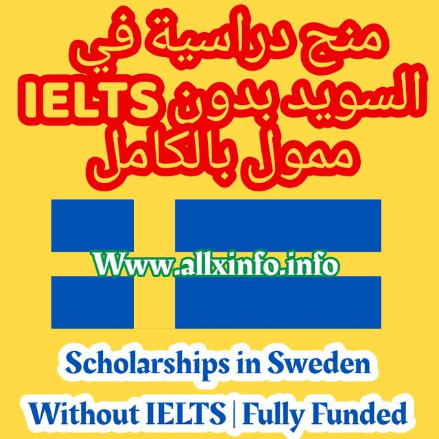 منح دراسية في السويد بدون IELTS   ممول بالكامل Scholarships in Sweden Without IELTS   Fully Funded