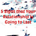 5 Signs that Your Relationship Is Going…