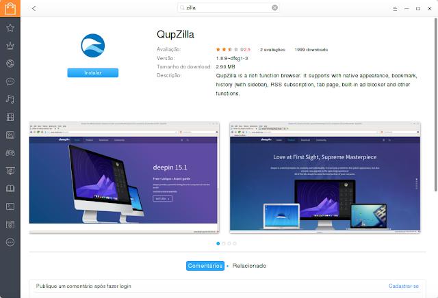 QupZilla Browser