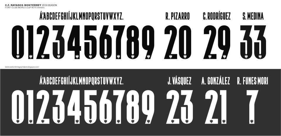 football teams shirt and kits fan rayados monterrey 2019 cwc font rayados monterrey 2019 cwc font
