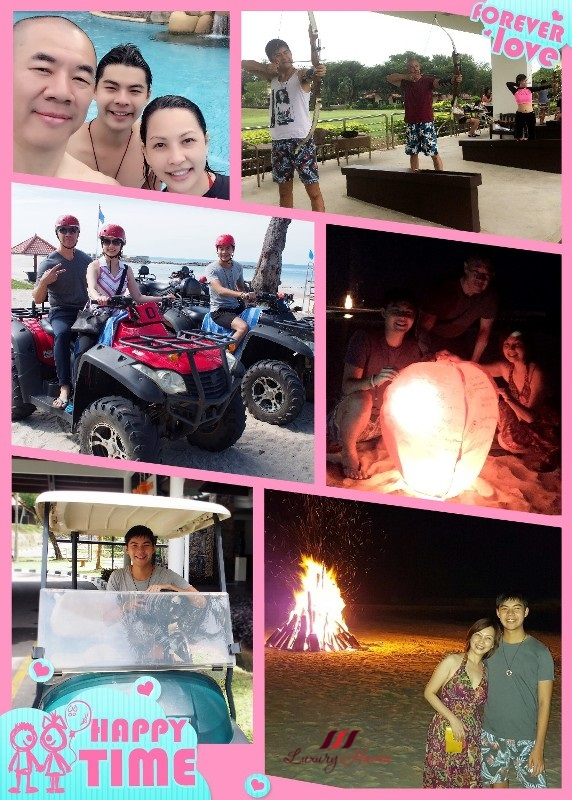 bintan lagoon resort outdoor activities atv sky lantern