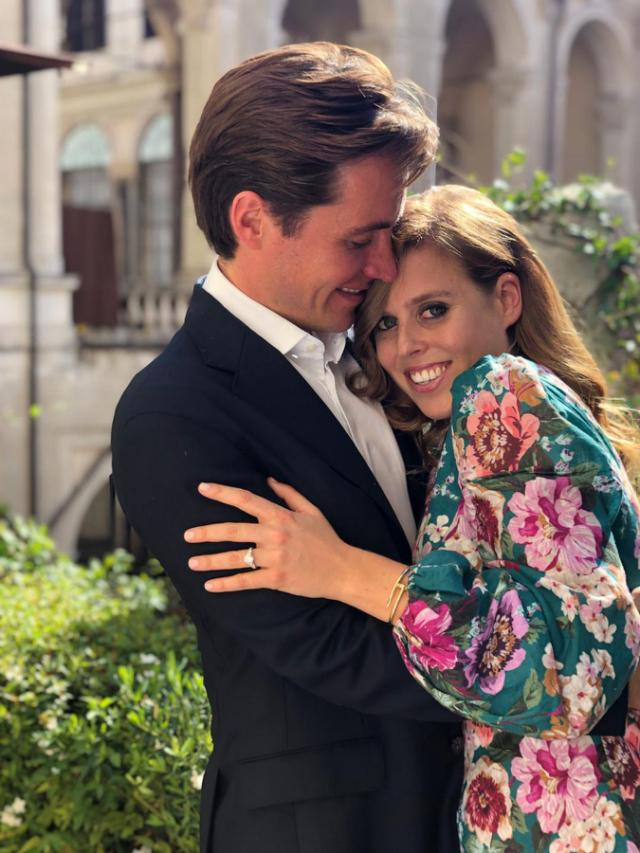 Princess Beatrice Is Engaged to Her Boyfriend Edoardo Mapelli Mozzi