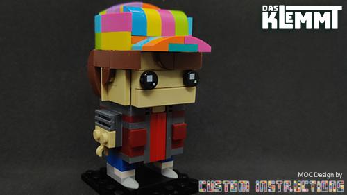 BrickHeadz MOC Marty McFly by Custom Instructions
