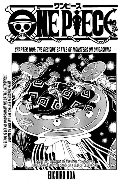 One Piece 1001 Has Been Released : Kaido Sees Shadows of Roger, Rock, Oden and Whitebeard | Spoilers and Link to Read Online