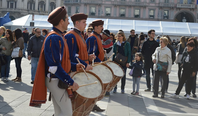 Feriados na Itália em abril de 2017