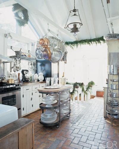 Rustic Country Kitchen Cabinets: Décor De Provence: Rustic Kitchen