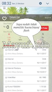 Tutorial Cara Menggunakan Kuota FB Dan & BBM Telkomsel Menjadi Kuota Flash Reguler Biasa Terbaru