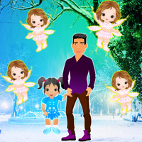 Play WowEscape Visiting Christmas Angels Escape