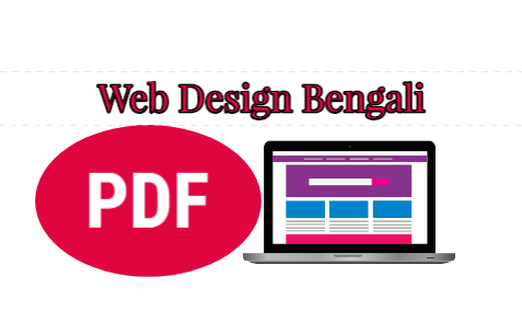 Bengali Web Design and Developing Free PDF Books Download