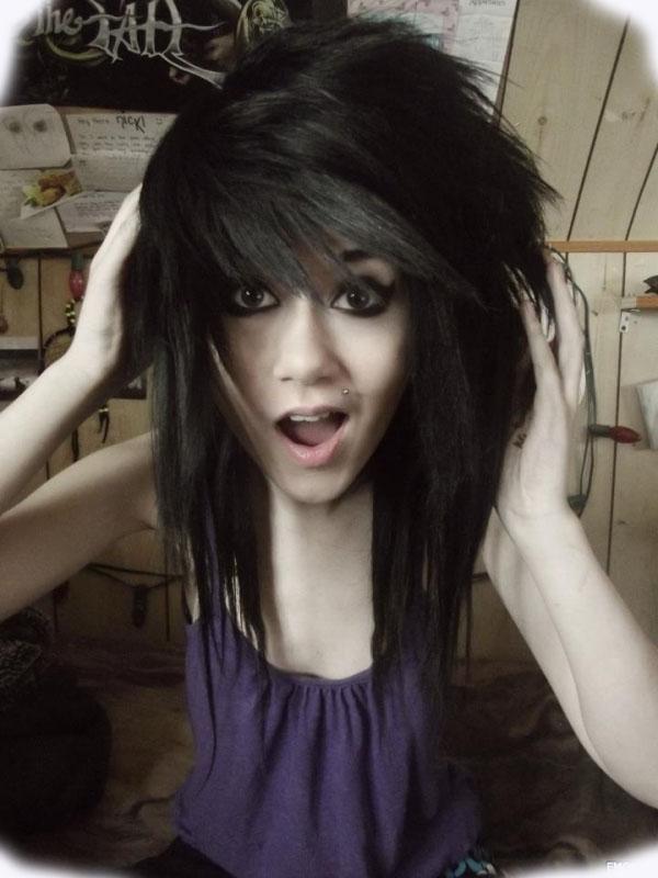 Sensational Emo Hairstyles Part 2 Celebrity Hairstyles Short Hairstyles Gunalazisus