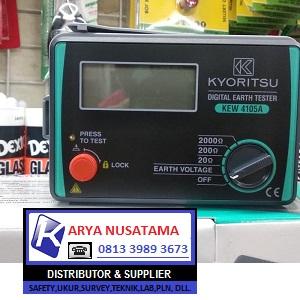 Jual Kyoritsu 4105A Digital Earth Tester di Depok
