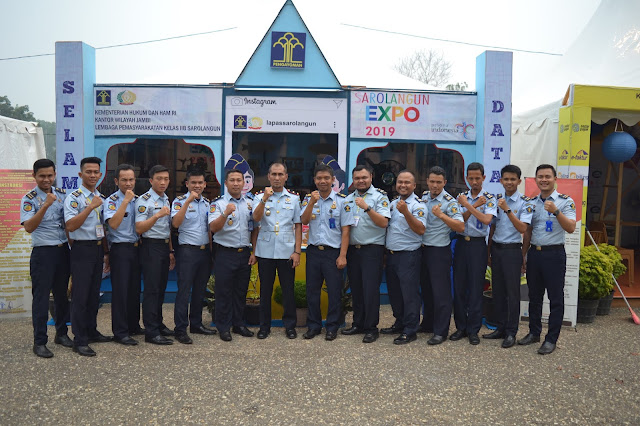 Lapas Sarolangun Unjuk Gigi di Arena Sarolangun Expo ke 20
