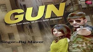 GUN LYRICS RAJ MAWER   HARYANVI SONG