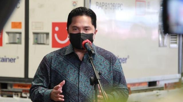 Garuda Indonesia Bangkrut, Erick Thohir Akan Pertahankan Ribuan Karyawan