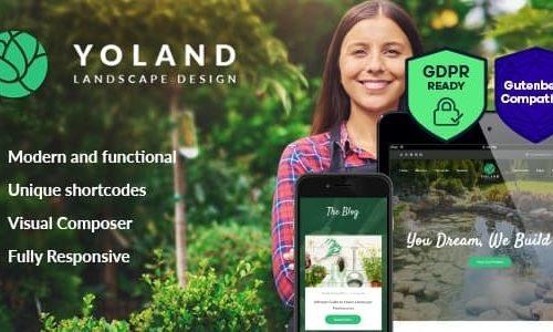 Download Yoland v1.2 - Landscape Design & Garden Accesories Store WordPress Theme