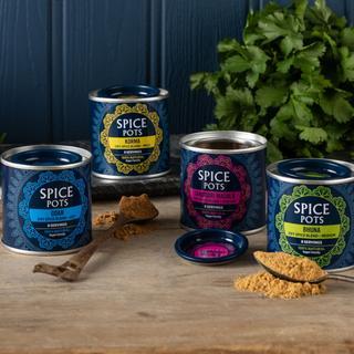 Spice Pots - tins