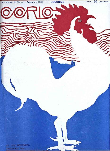 1901 Paul-Emile Boutigny - Corio magazine rooster