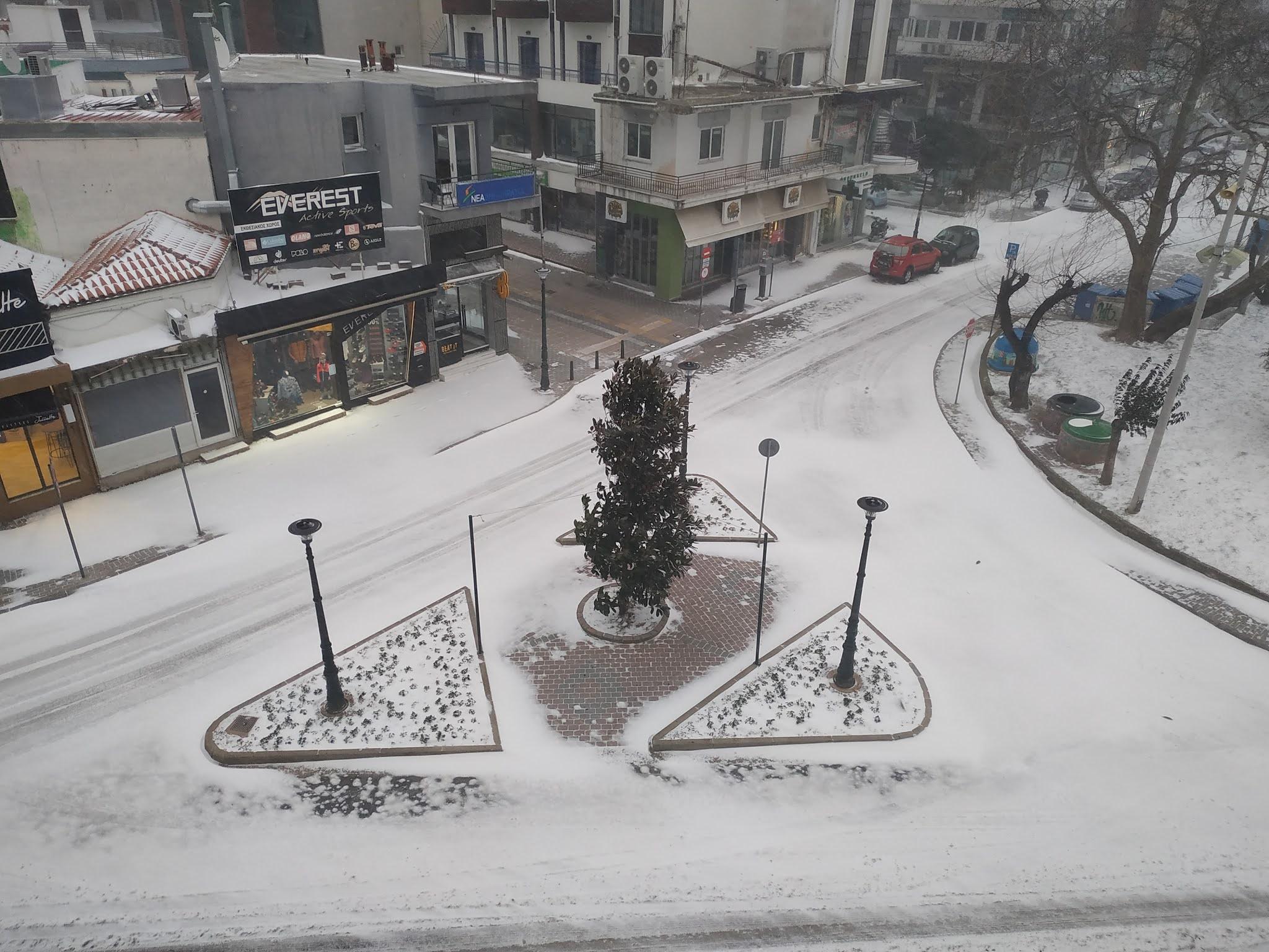 12 κλικ στην χιονισμένη Ξάνθη [ΦΩΤΟ]