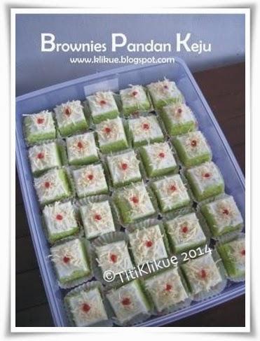 Cara Membuat Brownies Pandan : membuat, brownies, pandan, KLIKUE, Balikpapan, Cakes, Puddings, Online, Shop:, Brownies, Pandan