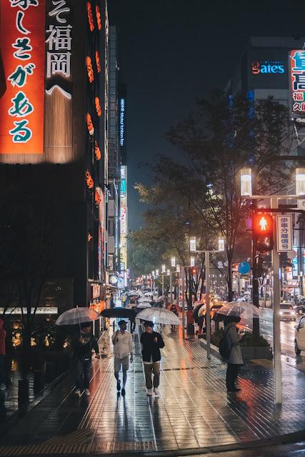 Japan in rainy season