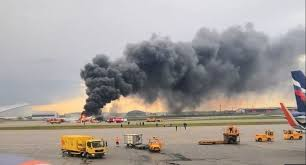 41 dead as Russian plane bursts into flames on landing