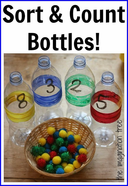 Rainbow Math Activity for Preschool