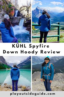 KUHL Spyfire Down Hoody Review Pinterest pin
