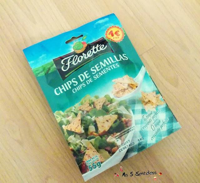 Florette chips de semillas