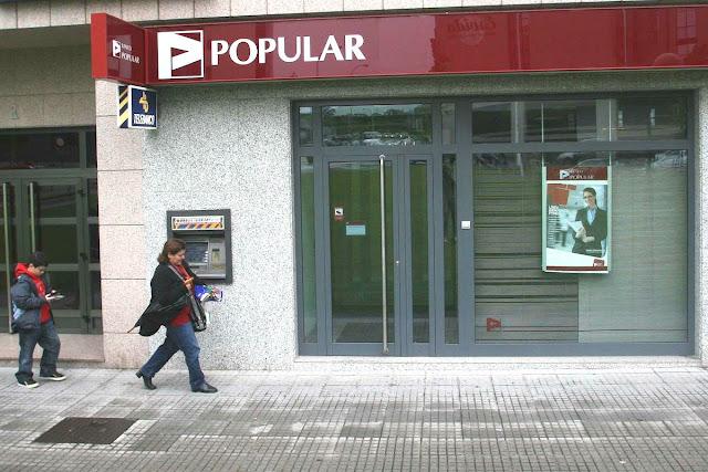 Banco Popular de España desea renacer de la crisis