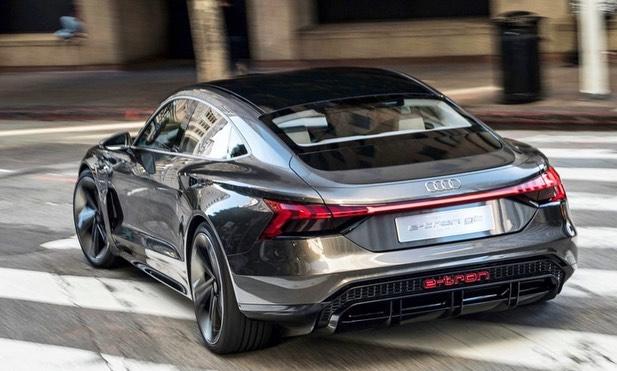 Konsep Mobil Listrik Audi E-Tron GT Dirilis Gila 1