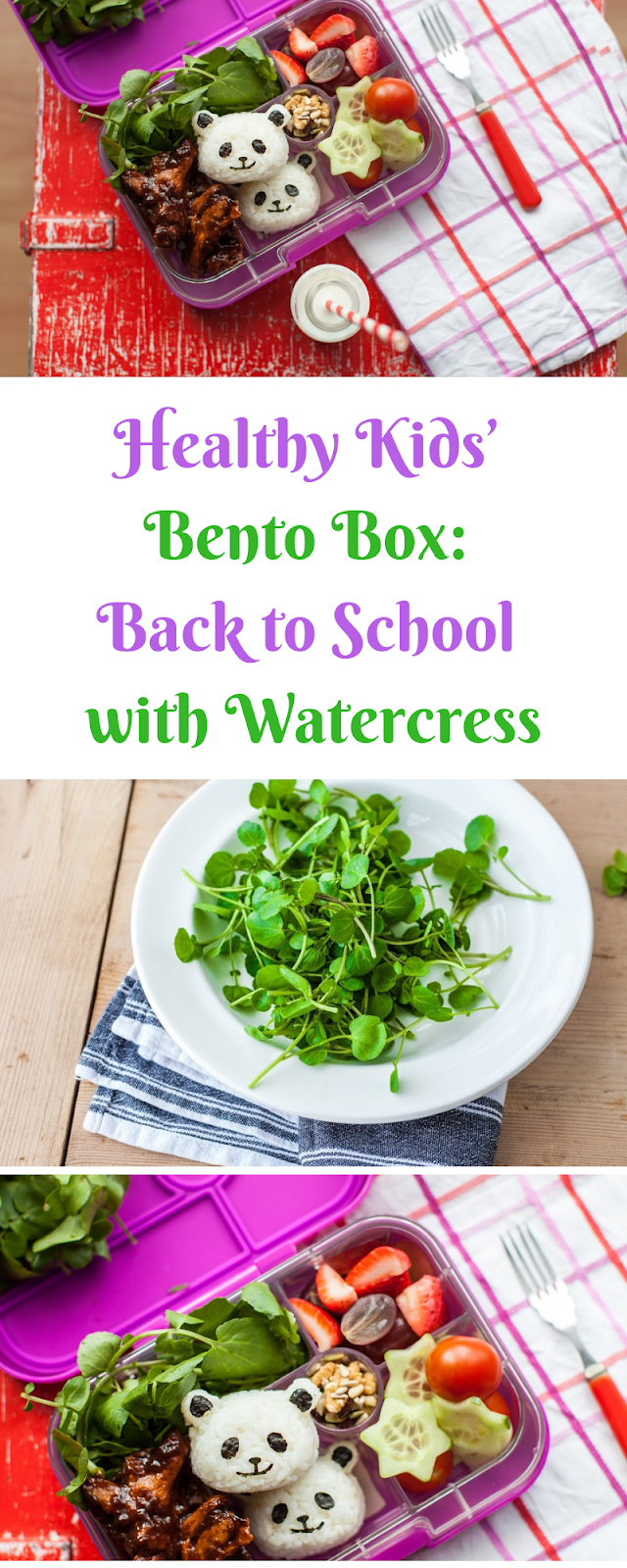 Healthy Kids' Bento Box: Back to School with Watercress