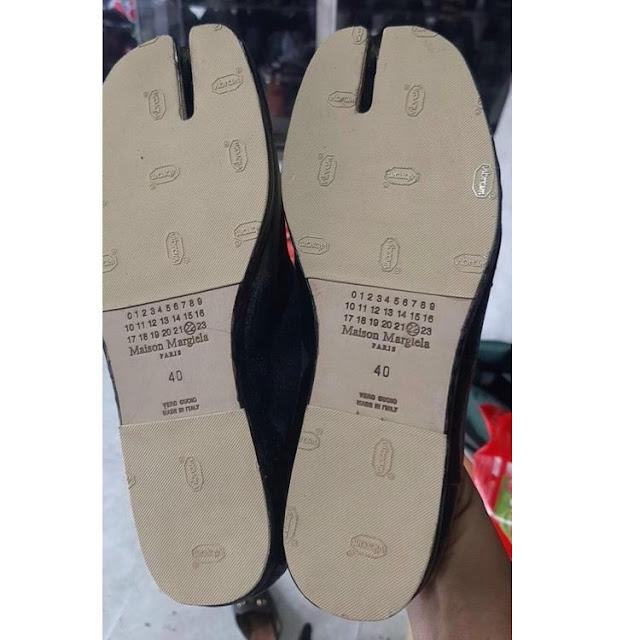 Dán giày hàng hiệu maison margiela