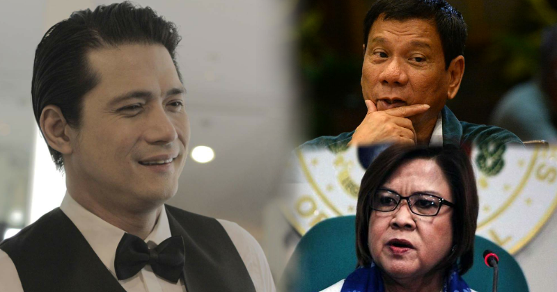 Robin Padilla's thoughts on President Duterte and De Lima