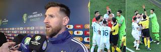 Inilah Tudingan Messi soal Kecurangan di Copa America 2019