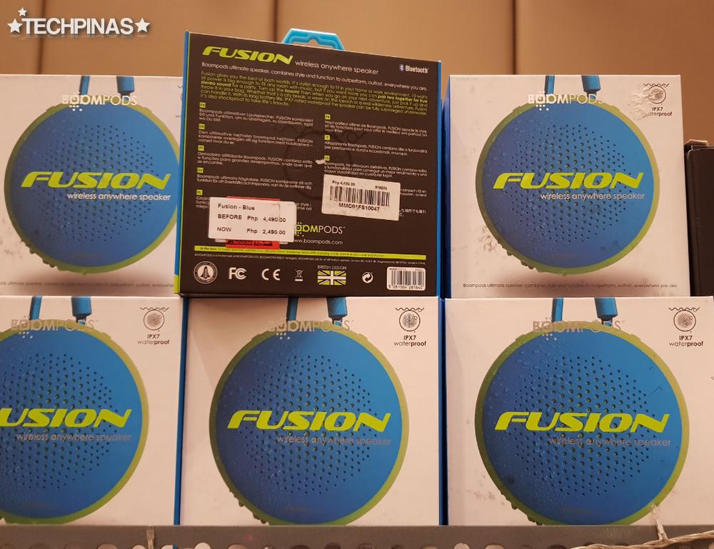 Boompods, Boompods Fusion Bluetooth Speaker