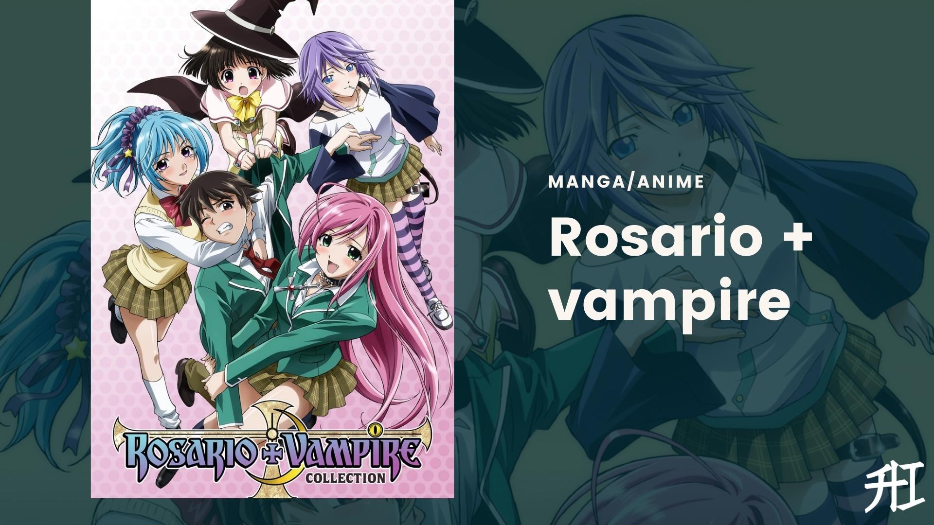 Rosario + vampire - Haren anime