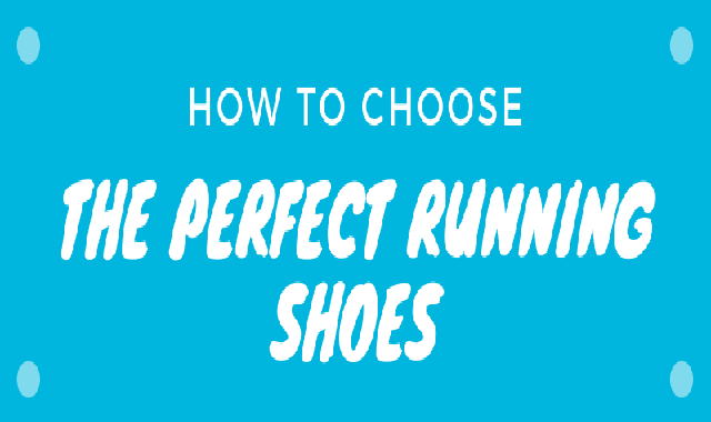 How to Choose The Perfect Running Shoes #infographic