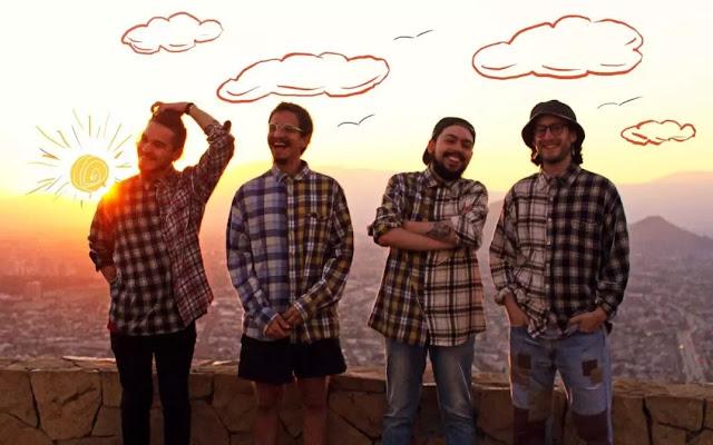 """Malditos Vecinos despliega su sonido rock en su nuevo single """"Atardecer"""""""