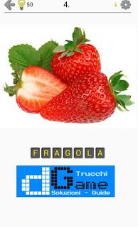 Soluzioni Frutti, verdure e noce livello 4