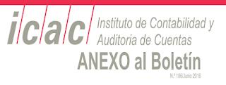 BOICAC 106 junio 2016 Anexo al Boletín