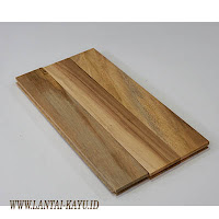 Parket lantai kayu jati grade C ukuran 30 cm