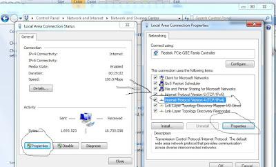 Tips Mensetting atau Memasukan Ip Address Pada Komputer