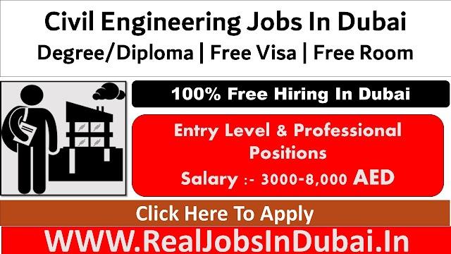 Civil Engineering Jobs In Dubai , Abu Dhabi & Sharjah  UAE