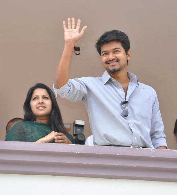 Kanyakumari best clikz: Vijay Family photo