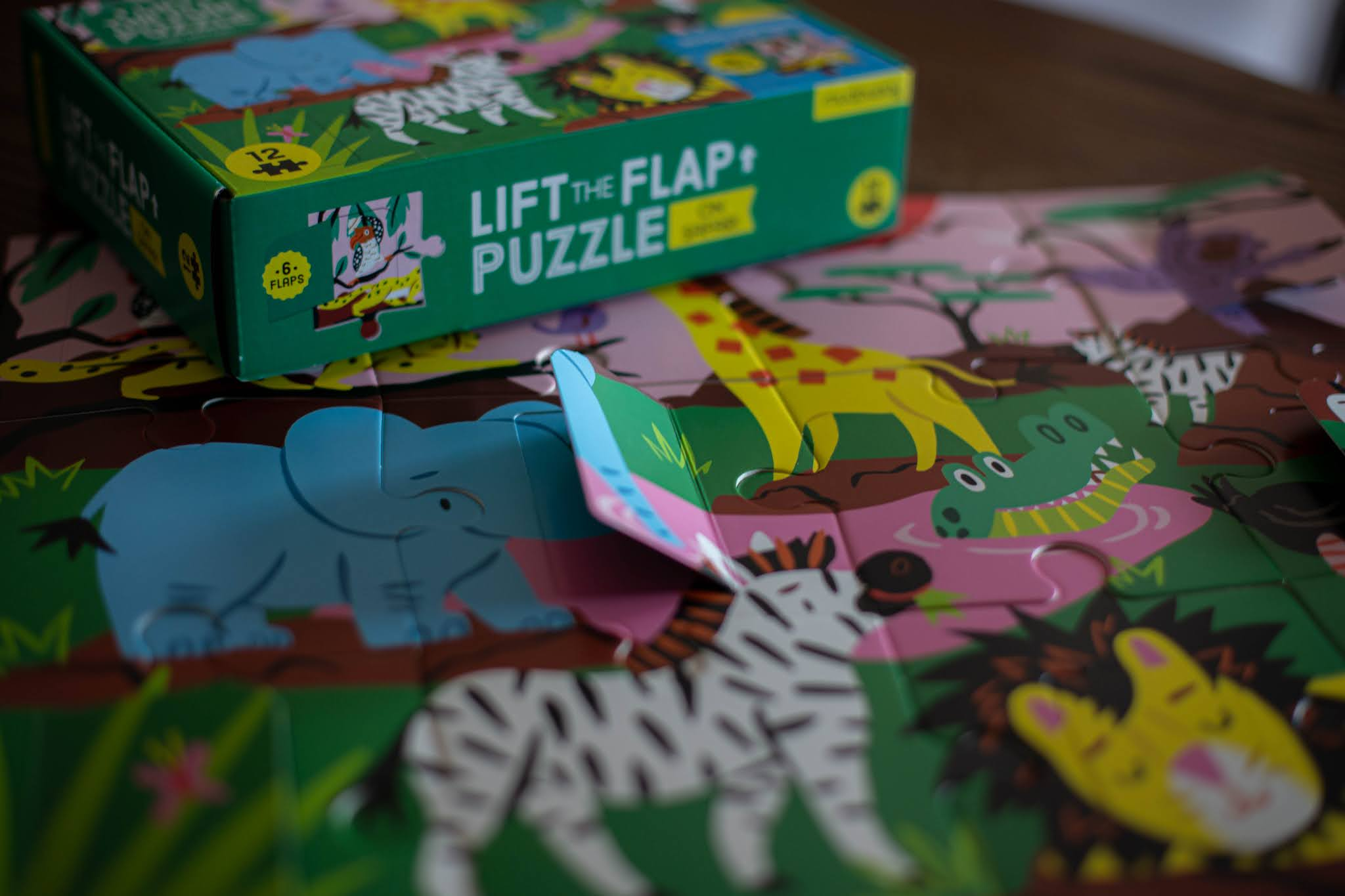 Puzzle z okienkami Safari