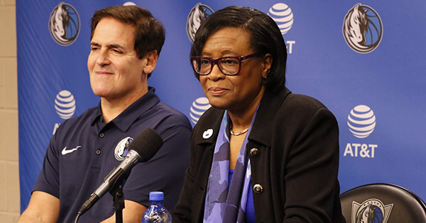 Cynthia Marshall, the CEO of the Dallas Mavericks