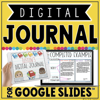 Digital Journal for Google Slides