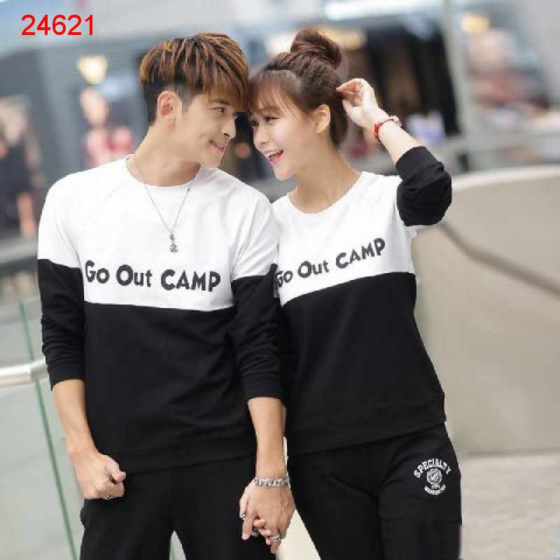 Jual Sweater Couple Sweater Camp - 24621